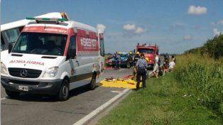 La colisión de dos micros de la empresa Monticas en la ruta 33 a la altura de Pérez dejó como saldo trece muertes.