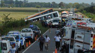 La provincia declaró duelo en la provincia debido al trágico choque de los micros de Monticas