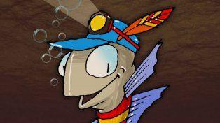 El personaje principal del libro es un sábalo llamado Curimba.