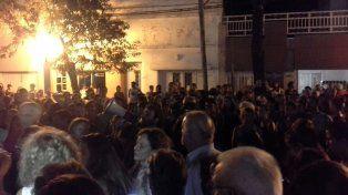 Vecinos de Casilda se manifestaron contra Monticas y pidieron justicia por las víctimas
