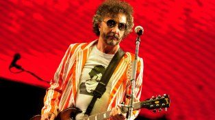 Temático rock 50 años. El rosarino Fito Páez actuará el lunes.