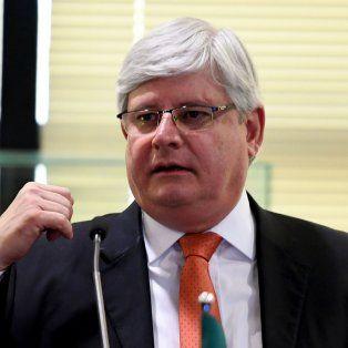 Lava Jato. El fiscal de Brasil, Rodrigo Janot, lleva a cabo investigaciones.