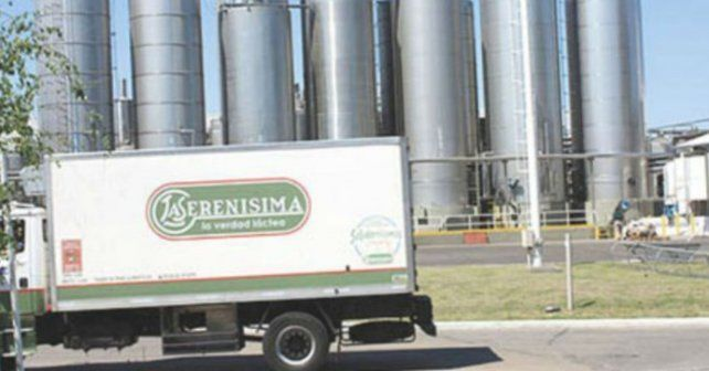 La empresa de productos lácteos cierra una planta en Rufino.