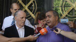 Gremialista. Héctor Daer pidió que la movilización de la CGT no sea usada por ningún partido.