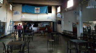 Las instalaciones del Club de Empleados Nuevo Banco Santa Fe sufrieron un incendio el 25 de enero pasado.