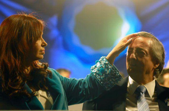 Cristina homenajeó a Néstor Kirchner en el 67º aniversario de su nacimiento.