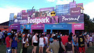 Miles de personas formaron parte del Personal Fest en Rosario.
