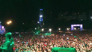 Unas 10 mil personas coparon el Parque Nacional a la Bandera por el Personal Fest.