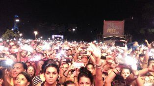 Miles de rosarinos coparon el Parque a la Bandera para el cierre del Personal Fest