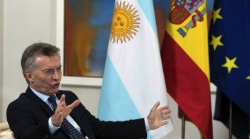 El presidente Macri estuvo en España para gestionar inversiones en nuestro país.