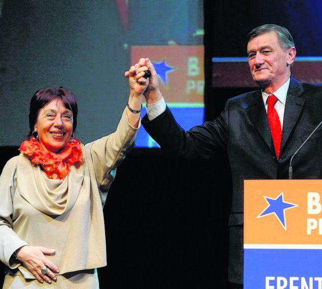 La fórmula Binner-Morandini llegó segunda en las elecciones generales del 25 de octubre de 2011.
