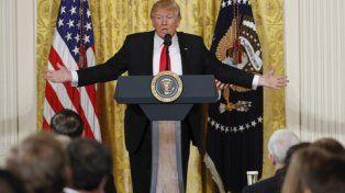 Se ahonda la brecha. Trump suele atacar a los medios críticos, a quienes acusa de falsear la verdad.