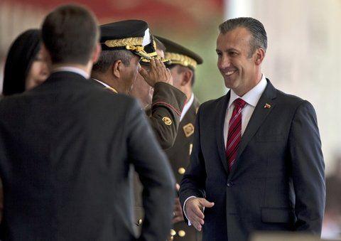 Desmentida. El Aissami salió al cruce de las acusaciones de EEUU que lo vinculan con narcotraficantes.