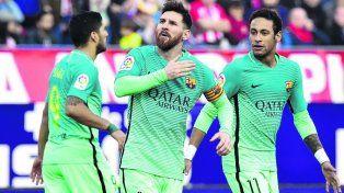 Messi volvió a marcar en Barcelona y lo gritó con fuerza
