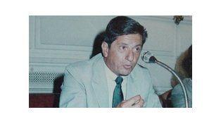 Acto en memoria del dirigente radical Eugenio Malaponte