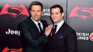 Peor combo. Ben Affleck y Henry Cavill, elegidos por Batman.