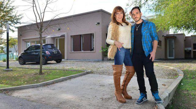 Lizi Tagliani y su novio Federico de Nichilo