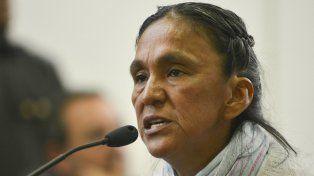 Acusada. La diputada del Parlasur está detenida en un penal jujeño.