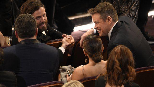 Las mejores instantáneas de los premios Oscar 2017