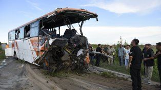 El accidente entre dos ómnibus de la empresa Monticas en Zavalla provocó 12 muertos y 34 heridos.