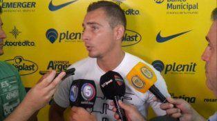Marco Ruben dijo que tanto él como el plantel canalla llegan bien al arranque del torneo.