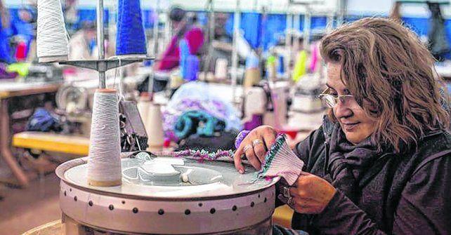 sin resto. La industria textil y de indumentaria tuvo una caída del 4