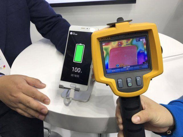 Lanzan una tecnología que carga la batería del celular en menos de 20 minutos