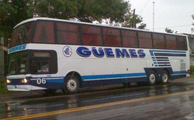 Güemes cubrirá dos de las rutas de Monticas.