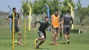 ¿Llega? Fernández arrastra una molestia en el muslo desde el amistoso ante Vélez.