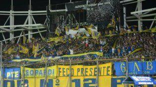 Tribuna repleta. Los hinchas de Boca podrán ir al estadio Florencio Sola.