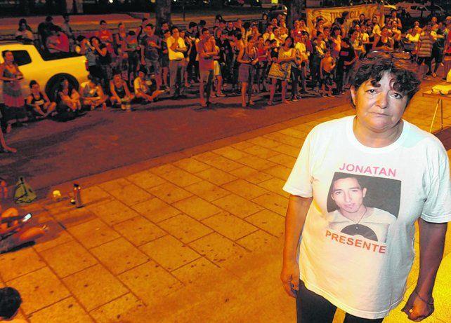 María Elena fue el centro de las miradas anoche en Tribunales. Conocí el dolor más profundo
