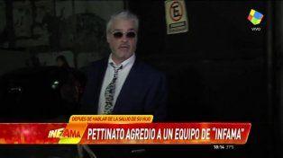 La furia de Roberto Pettinato con un movilero de televisión