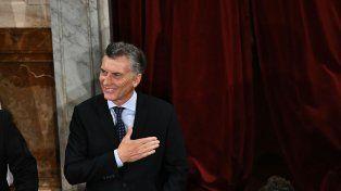 El presidente de la Nación abrió el período de sesiones ordinarias del Parlamento.