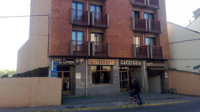 El hotel defraudado por un grupo de comensales.