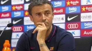 Luis Enrique anunció que dejará de ser el entrenador de Barcelona a fin de temporada