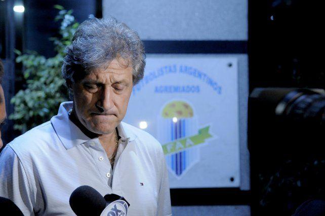 Marchi estaba reunido esta noche con Armando Pérez.