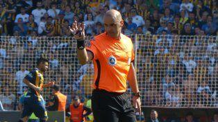 Diego Abal será el árbitro del partido entre Rosario Central y Godoy Cruz.