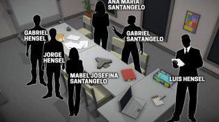 Las personas que estuvieron en el lugar de la masacre de la escribanía de Banfield.