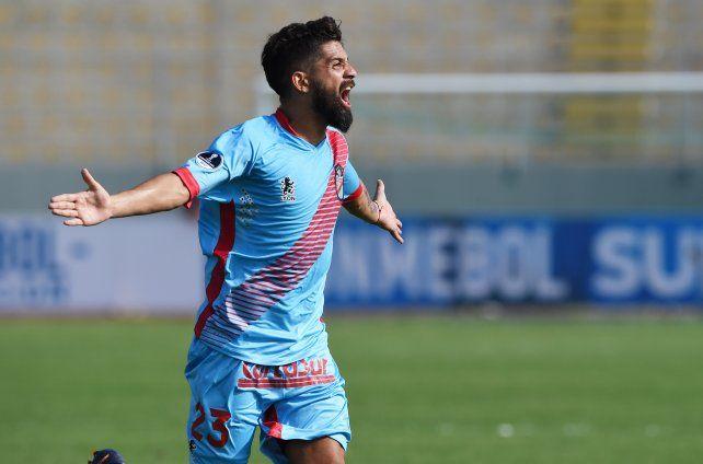 Joaquín Boghossian y Lucas Wilchez hicieron los goles del equipo argentino.