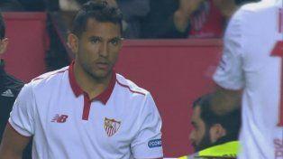 Montoya ingresó por Vietto y le cometieron un penal que el árbitro ignoró.