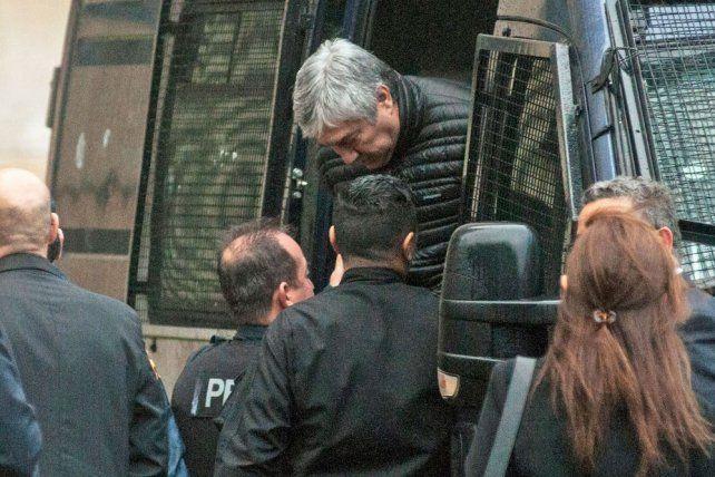 Lázaro Báez hoy se despegó de Cristina