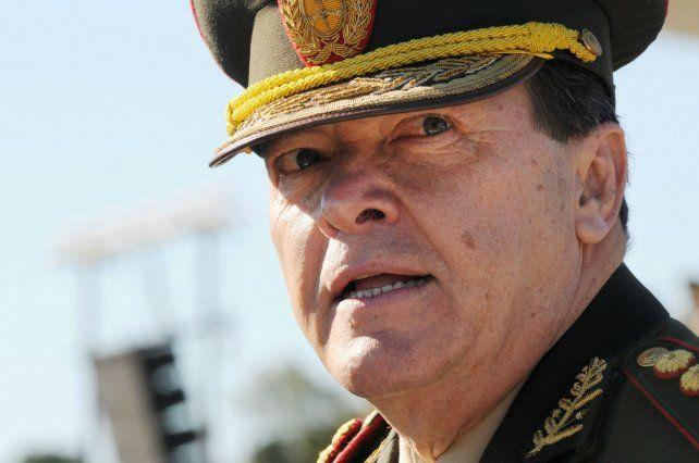 Militar. Milani está preso en La Rioja acusado de secuestros y torturas.