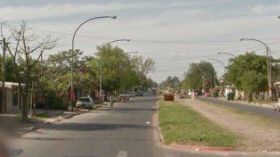 El accidente ocurrió alrededor de las 22 en Avellaneda al 4100. (Foto Google Maps)