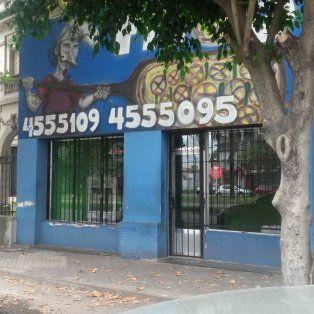 La pizzería donde ocurrió el hecho funciona sobre Rondeau al 700, en la zona norte de Rosario.