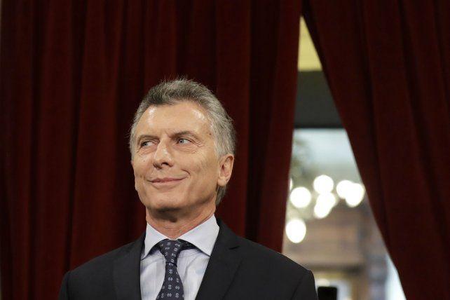 La sonrisa mefistofélica con la que el presidente Mauricio Macri acompañó su ataque al secretario general de Suteba