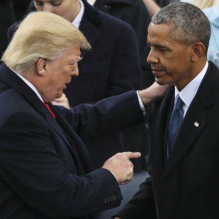 Sin pruebas. Trump comparó a Obama y al presunto espionaje con el escándalo de Watergate.