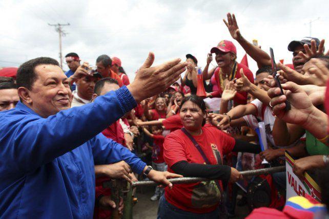 Legado. Chávez sigue presente en su pueblo y en el gobierno de Maduro.