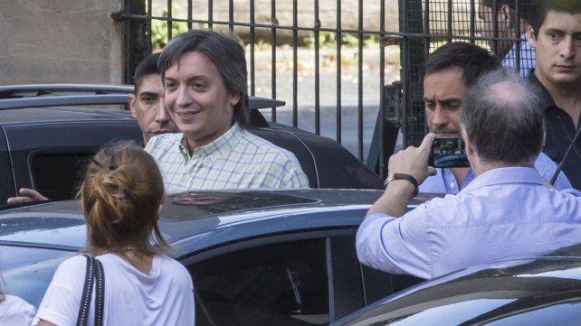 Allanan banco en búsqueda de cuentas de Máximo Kirchner
