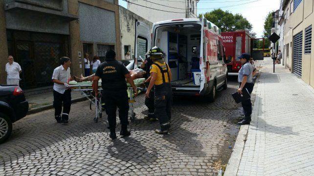 Un tanque explotó cuando lo estaban reparando en un taller mecánico ubicado en Marcos Paz al 4000.