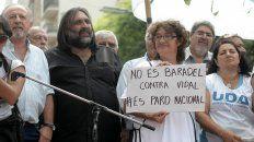La tiular de Cetera, SoniaAlesso, calificó de parazo nacional a la huelga docente iniciada hoy.